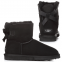 Угги UGG Bailey Bow Mini Black