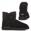 Угги UGG Bailey Button Mini Black