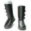 Угги UGG Bailey Button Triplet Leather Grey