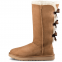 Угги UGG Bailey Bow Tall II Chestnut