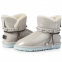 Угги UGG Swarowski Strap Mini Leather White