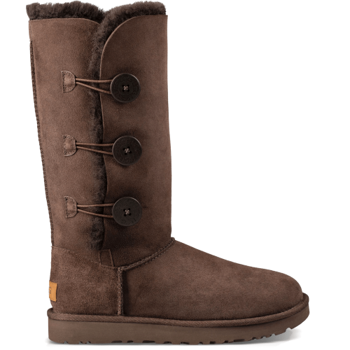 Угги UGG Australia Bailey Button Triplet II Chocolate купить в Киеве