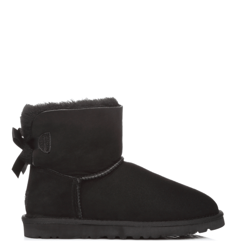 Угги UGG Australia Bailey Bow Mini Black купить в Киеве