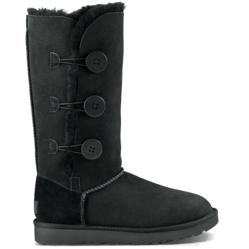 Угги UGG Australia Bailey Button Triplet II Black купить в Киеве