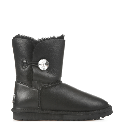 Угги UGG Australia Bailey Bling Leather Black купить в Киеве
