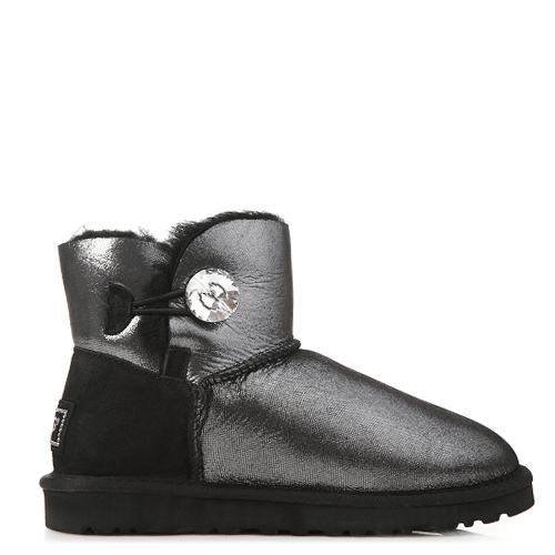 Угги UGG Australia Mini Bailey I Do! Black купить в Киеве