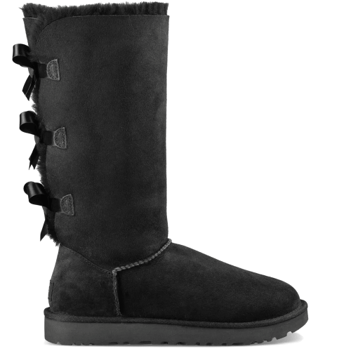 Угги UGG Australia Bailey Bow Tall II Black купить в Киеве