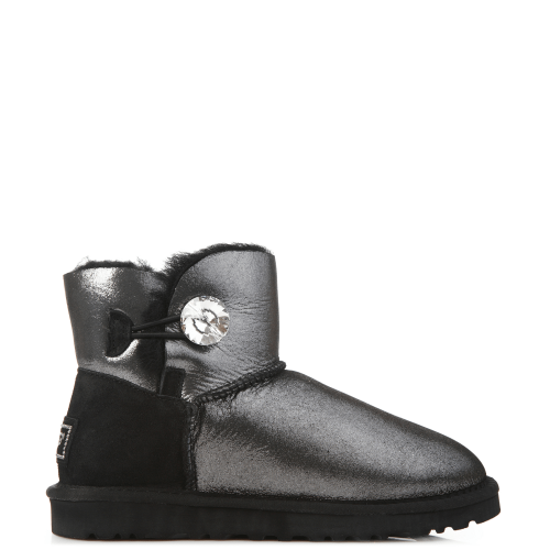 Угги UGG Australia Bailey Bling Mini I DO! Black купить в Киеве