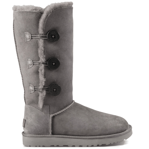 Угги UGG Australia Bailey Button Triplet II Grey купить в Киеве