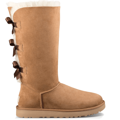 Угги UGG Australia Bailey Bow Tall II Chestnut купить в Киеве