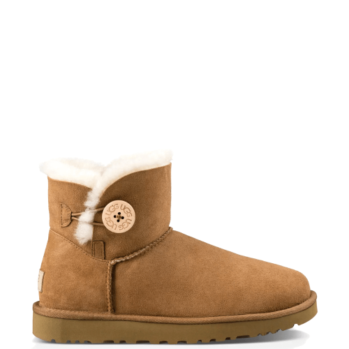Угги UGG Australia Mini Bailey Button II Chestnut купить в Киеве