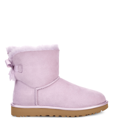 Угги UGG Australia Bailey Bow II Mini Metallic Lavander Fog купить в Киеве