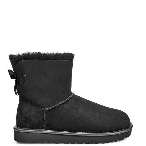 Угги UGG Australia Bailey Bow II Mini Metallic Black купить в Киеве
