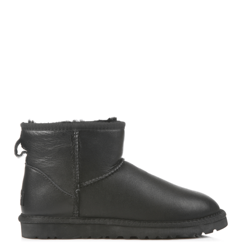 Угги UGG Australia Men Classic Mini Leather Black купить в Киеве