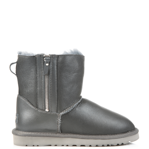 Угги UGG Australia Dubble Zip Leather Grey купить в Киеве