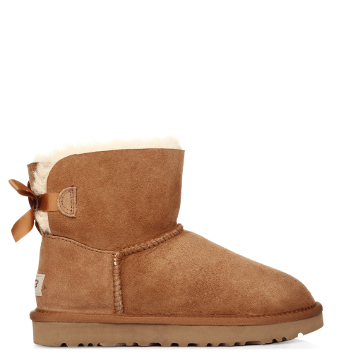 Угги UGG Australia Bailey Bow Mini Chestnut купить в Киеве