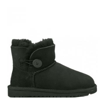Угги UGG Mini Bailey Button Black