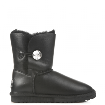 Угги UGG Bailey Bling Leather Black