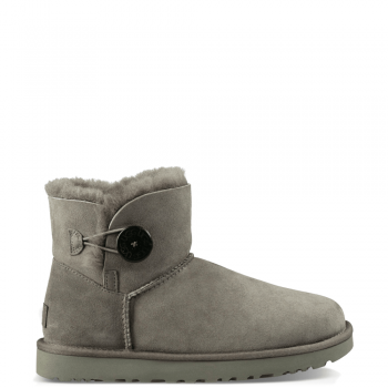 Угги UGG Mini Bailey Button II Grey