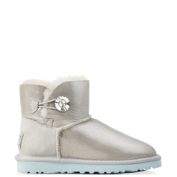 Угги UGG Bailey Bling Mini I DO! White