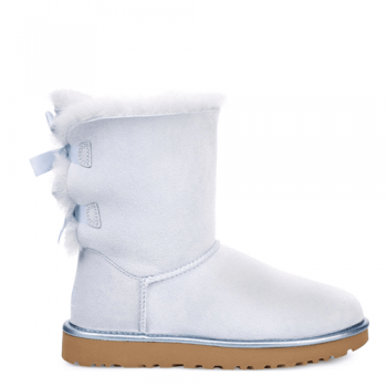 Угги UGG Bailey Bow II Metallic Sky Blue