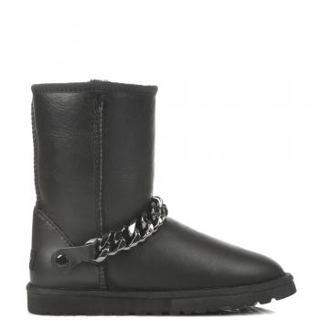 Угги UGG Chain Leather Black