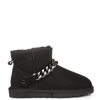 Угги UGG Chain Mini Black