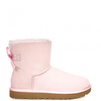 Угги UGG Bailey Bow II Mini Metallic Seashell Pink