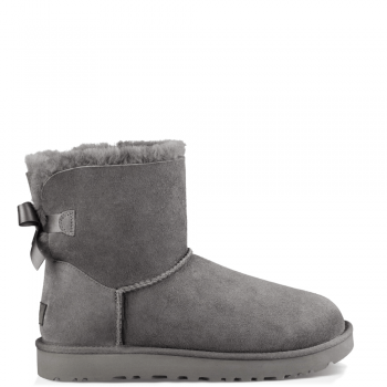Угги UGG Mini Bailey Bow II Grey