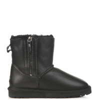 UGG Australia Dubble Zip Leather Black