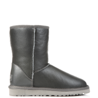 UGG Australia Classic Short Leather Grey