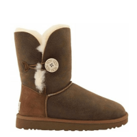 UGG Australia Bailey Button Bomber Chocolate