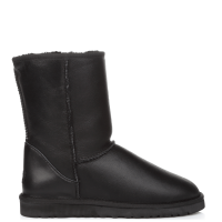UGG Australia Classic Short Leather Black