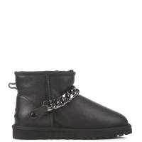 UGG Australia Chain Mini Leather Black