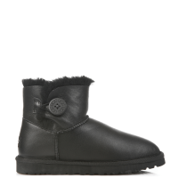 UGG Australia Bailey Button Mini Leather Black