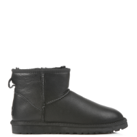 UGG Australia Men Classic Mini Leather Black