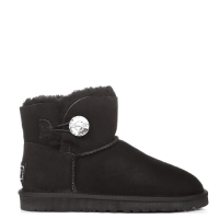 UGG Australia Mini Bailey Bling Black