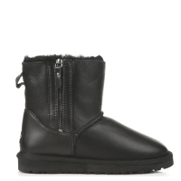 UGG Australia Mini Zip Leather Black